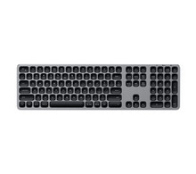 Беспроводная клавиатура Satechi Aluminum Bluetooth Wireless Keyboard Space Gray